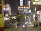 HK Wanchai to Central at night