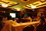 Sands Casino Macau - briefing on casino business ot HKU MBA students