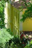 Yellow house at Caldes