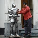 Helping a knight
