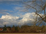 WINTER STORM CLOUDS . . . .