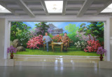 Mural at Chongson Hotel