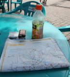 Refreshments and metro map studies