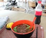 Noodles with ice slush - Han River