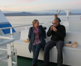 På ferja fra Tòrlakshöfn til Vestamanneyjar