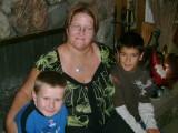 Proud Aunt Cyndi with Cris and Matt