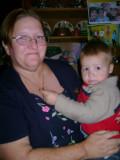 Proud Grandma with Mason