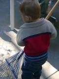 Mason wants to rake some more