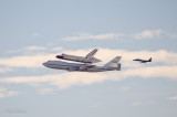 Space Shuttle Endeavour last flight, SF Bay Area Flyover