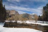 Yosemite Falls and the Merced River