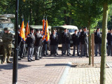 Dutch veterans were also present. Bond van Wapenbroeders Venray, Weert, Ospel.