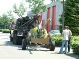 Terug brengen PAK kanon Zandoerle 17 juni 2006
