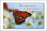 He will...