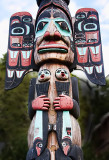 Detail Totem - Ketchikan