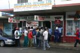 Queue at a Kava Shop in Nadi