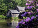 Mabry Mill In Late May