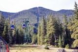 Banff Gondola Climbs 600 Meters Up