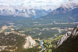 Looking Down into Bow Valley