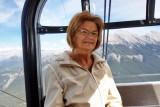 Coming down the Gondola