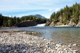 Bow Falls on the Bow River