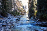 River in Johnston Canyon