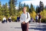 Marguerite at Lake Louise