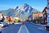 Banff, Main Drag Looking South