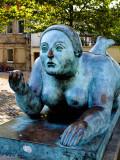 Botero Sculpture at the Heumarkt