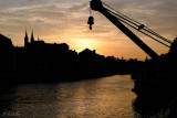 Sunset at the Regnitz river