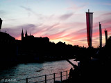 Sunset at the Regnitz