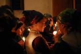 Easter celebration in Mestia - Svanetia.