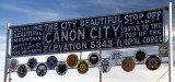 Canon City:  Tourist Sign