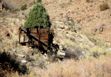 Royal Gorge:  Abandoned Mining Equipment