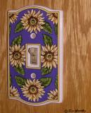 Porcelain Sunflower