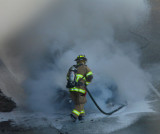 Firefighters - in a Commuter's Nightmare -