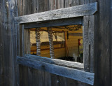 Peering into the Work Shed