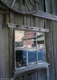 Barn Yard Reflection