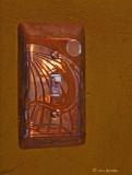 Copper:  Etched Lizard