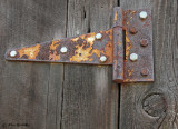 Old Hinges (2 images)