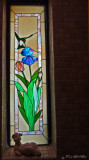 Stained Glass Hummingbird (bath #1)