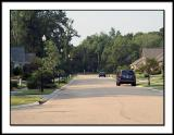 Looking South on Brookmeade Dr.