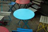 Little Blue Table