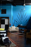 The blue room *