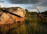 Fractured Boulder