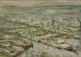 low tide oil on canvas 42x60