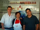 Juan Manuel padre, Estela y Juan Manuel hijo