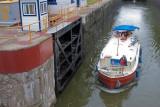 steel boat & lock