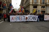 Student Protestors in Rome