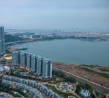 Hong Kong Airport from afar