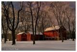 Winter at Tinicum Barn